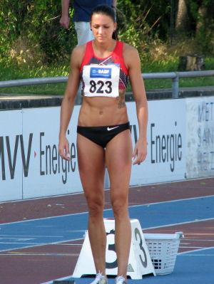 Photo of Janin Lindenberg: German sprinter