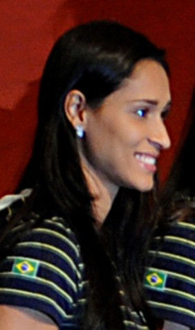 Photo of Jaqueline Carvalho: Female Volleyball player from Brazil