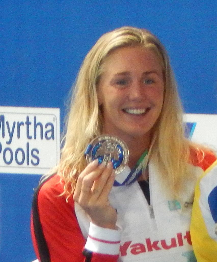 Photo of Jeanette Ottesen: Swimmer