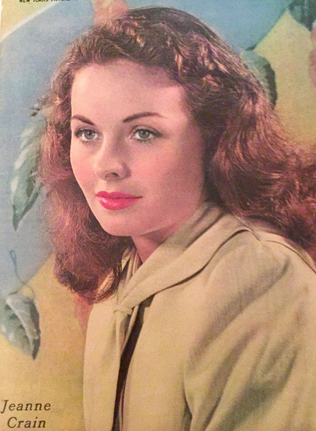 Photo of Jeanne Crain: American actress