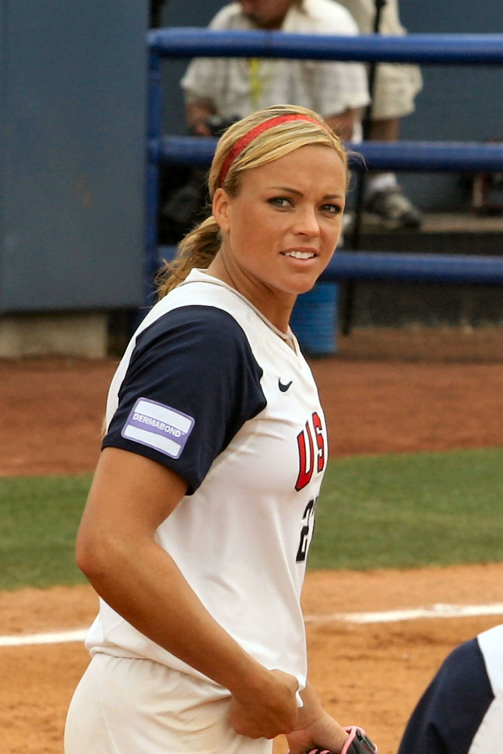 Photo of Jennie Finch: Softball player