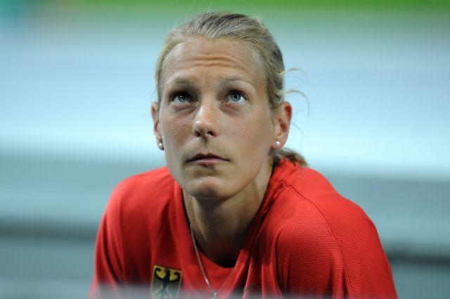 Photo of Jennifer Oeser: German heptathlete