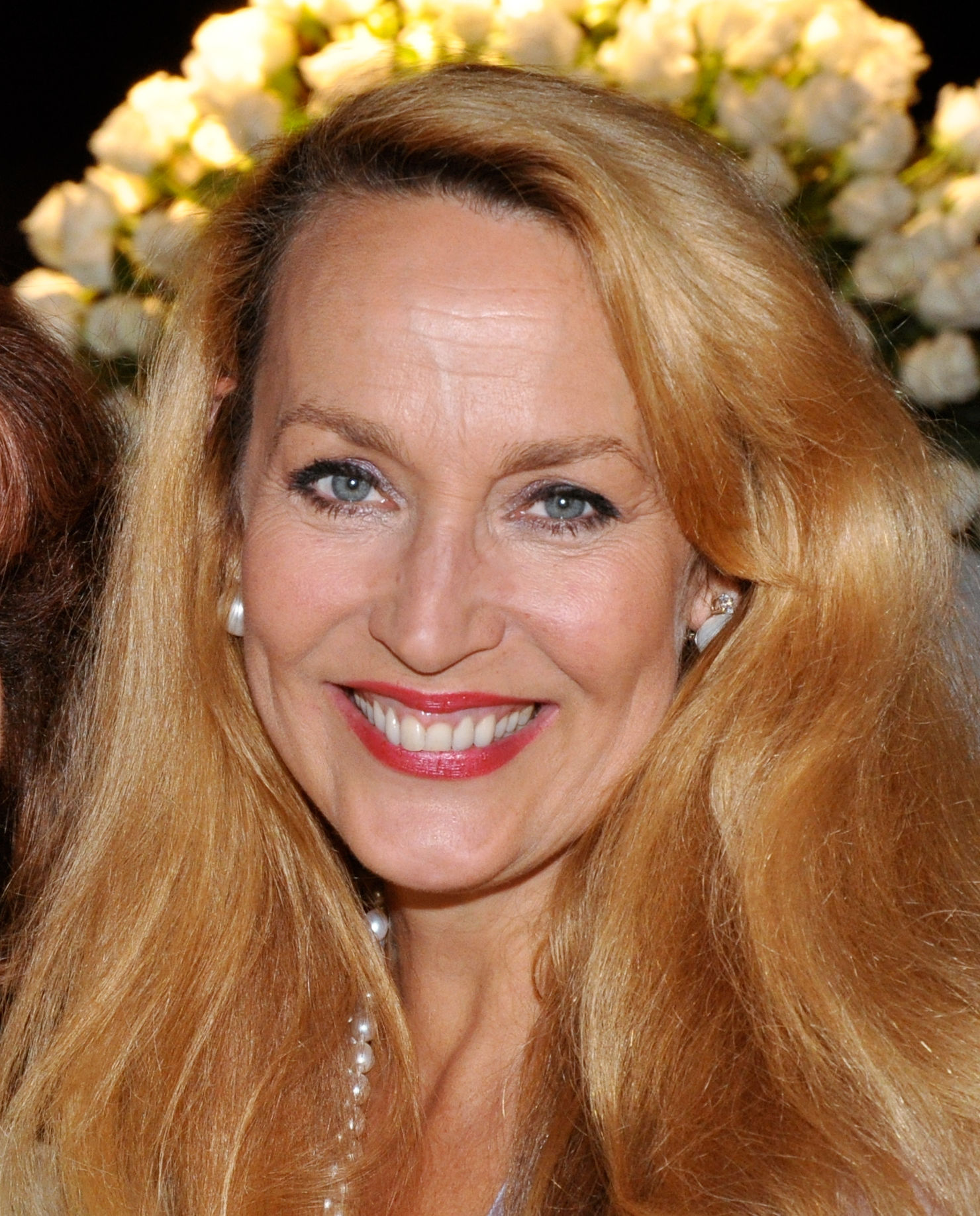 Photo of Jerry Hall: American actress