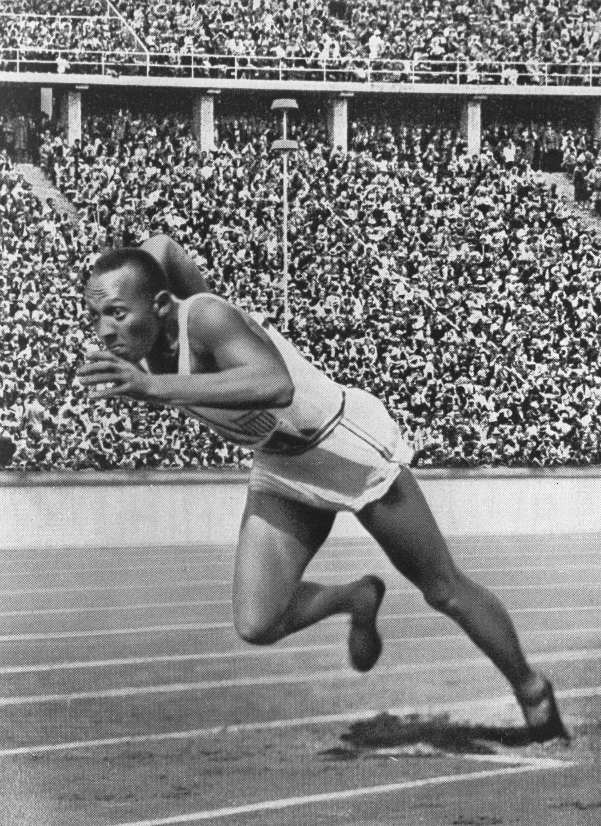 Photo of Jesse Owens: American track and field athlete