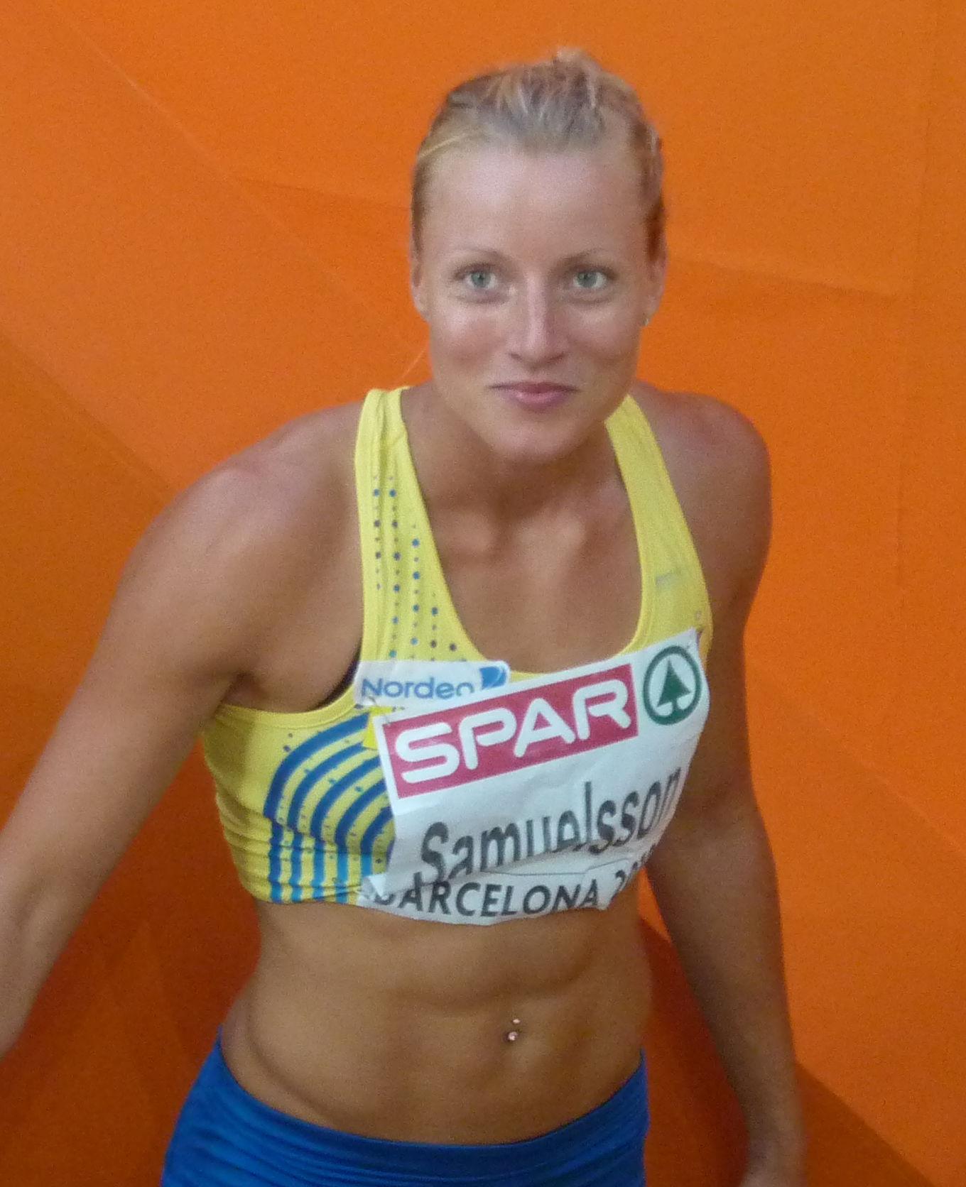 Photo of Jessica Samuelsson: Swedish heptathlete
