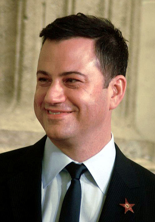 Photo of Jimmy Kimmel: American television host, producer, writer, comedian, voice actor, musician and radio personality