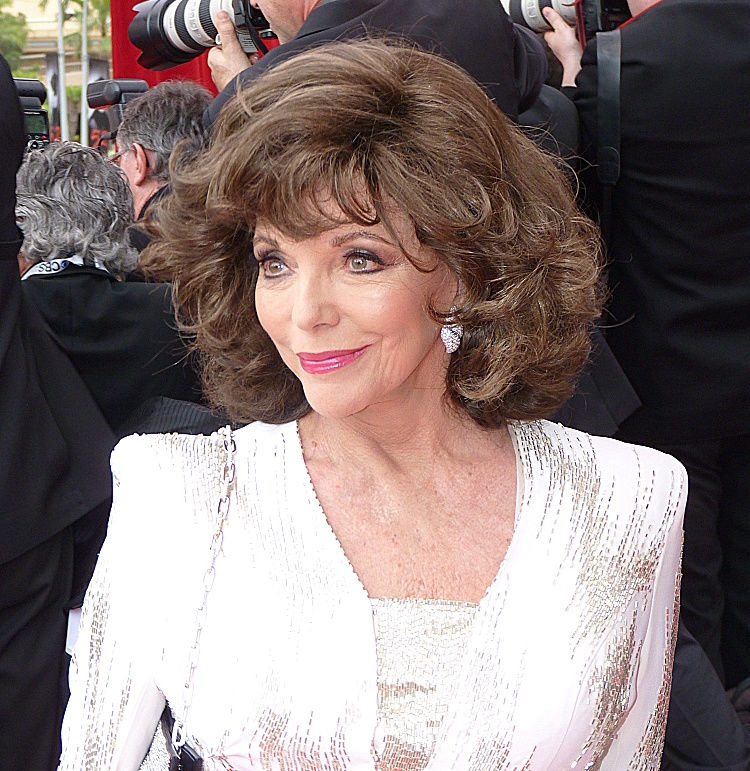 Photo of Joan Collins: English actress, author and columnist
