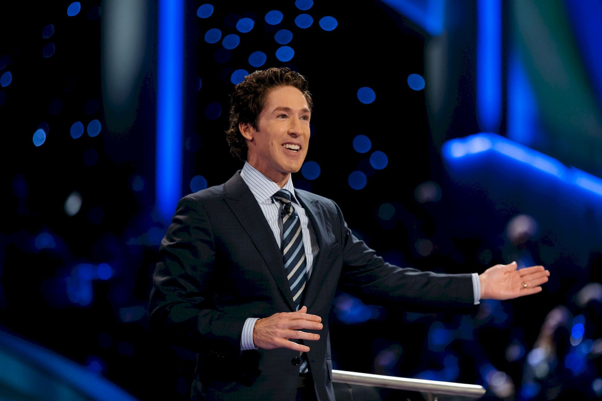 Photo of Joel Osteen: Televangelist and author from the United States