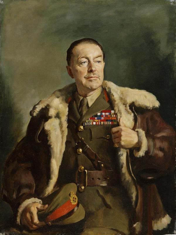 Photo of John Leigh-Pemberton: British artist