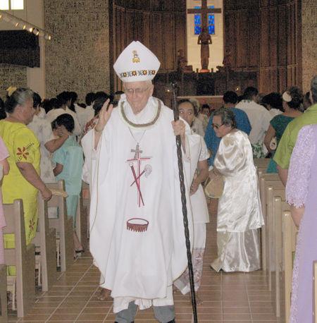 Photo of John Quinn Weitzel: American Samoan Roman Catholic bishop