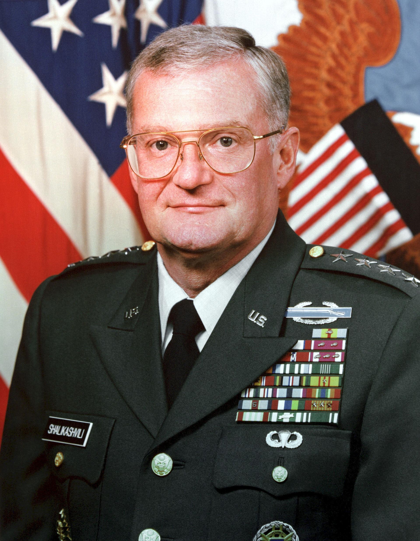 Photo of John Shalikashvili: United States general