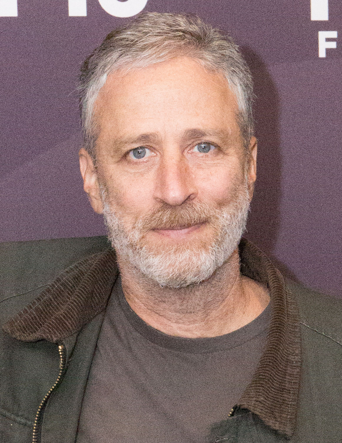 Photo of Jon Stewart: American political satirist, writer, television host, actor, media critic and stand-up comedian