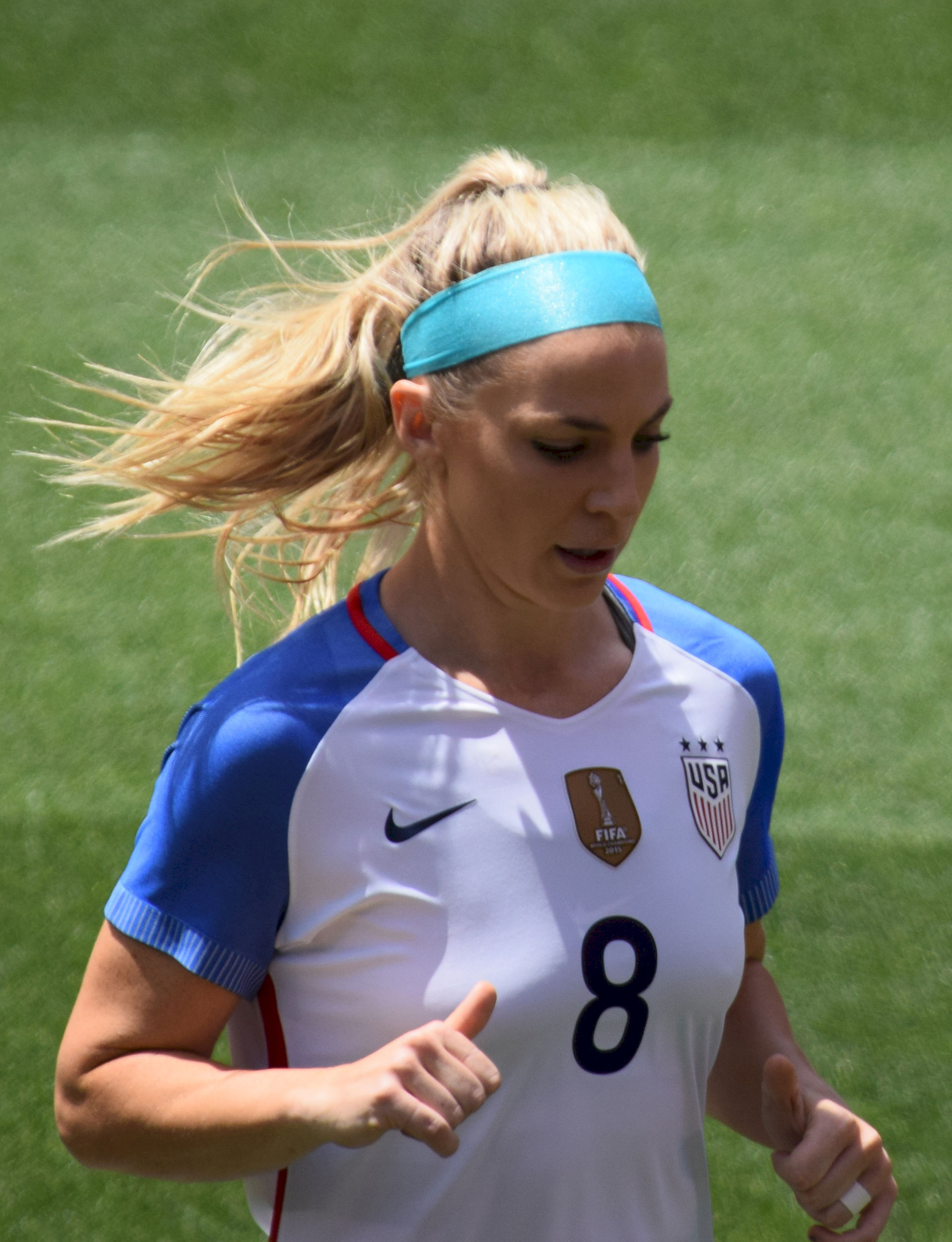 Photo of Julie Johnston: Association football defender, 2014 NWSL Rookie of the Year