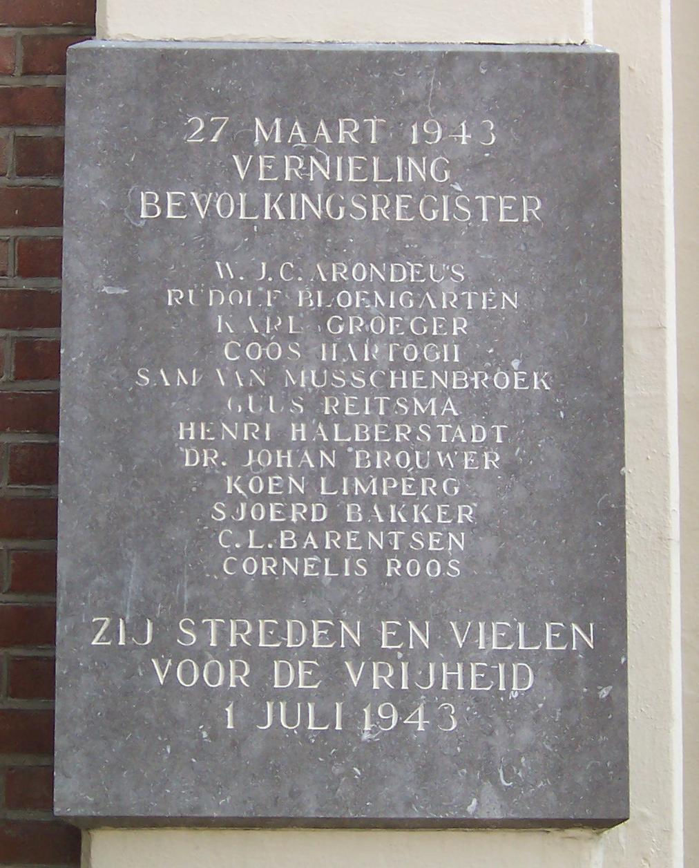 Photo of Karl Gröger: Dutch Righteous Among the Nations