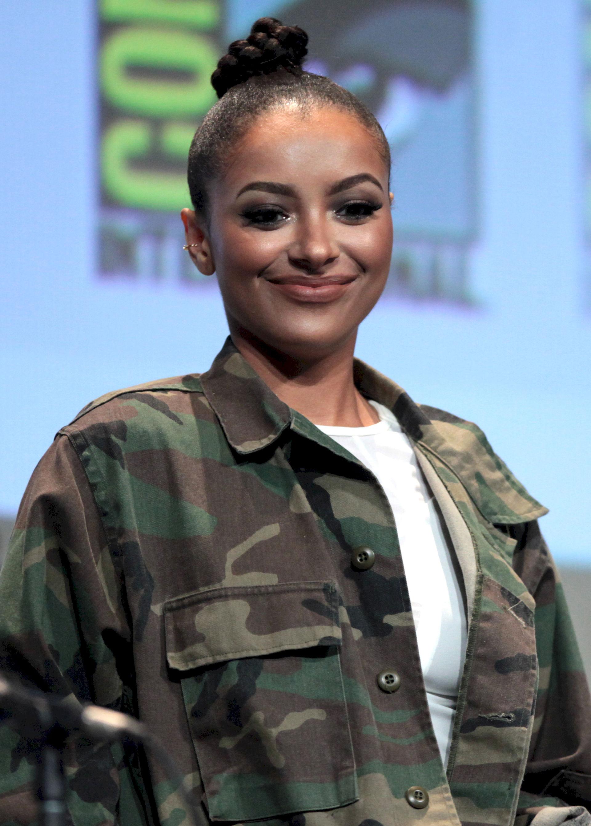 Photo of Kat Graham: Swiss-born American actress