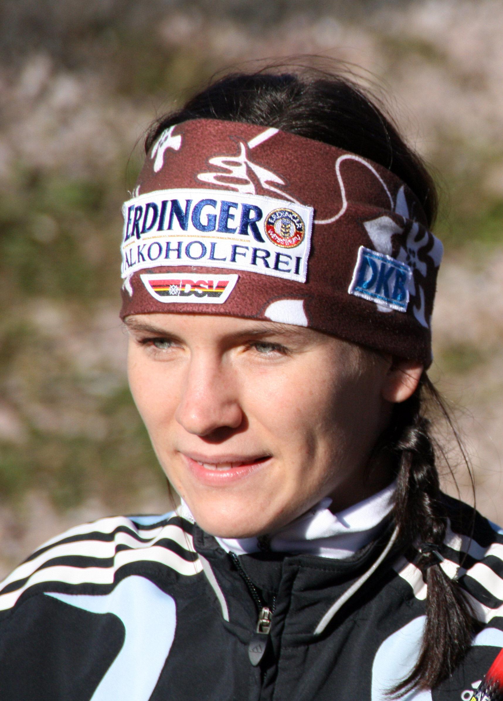 Photo of Kathrin Lang: German biathlete