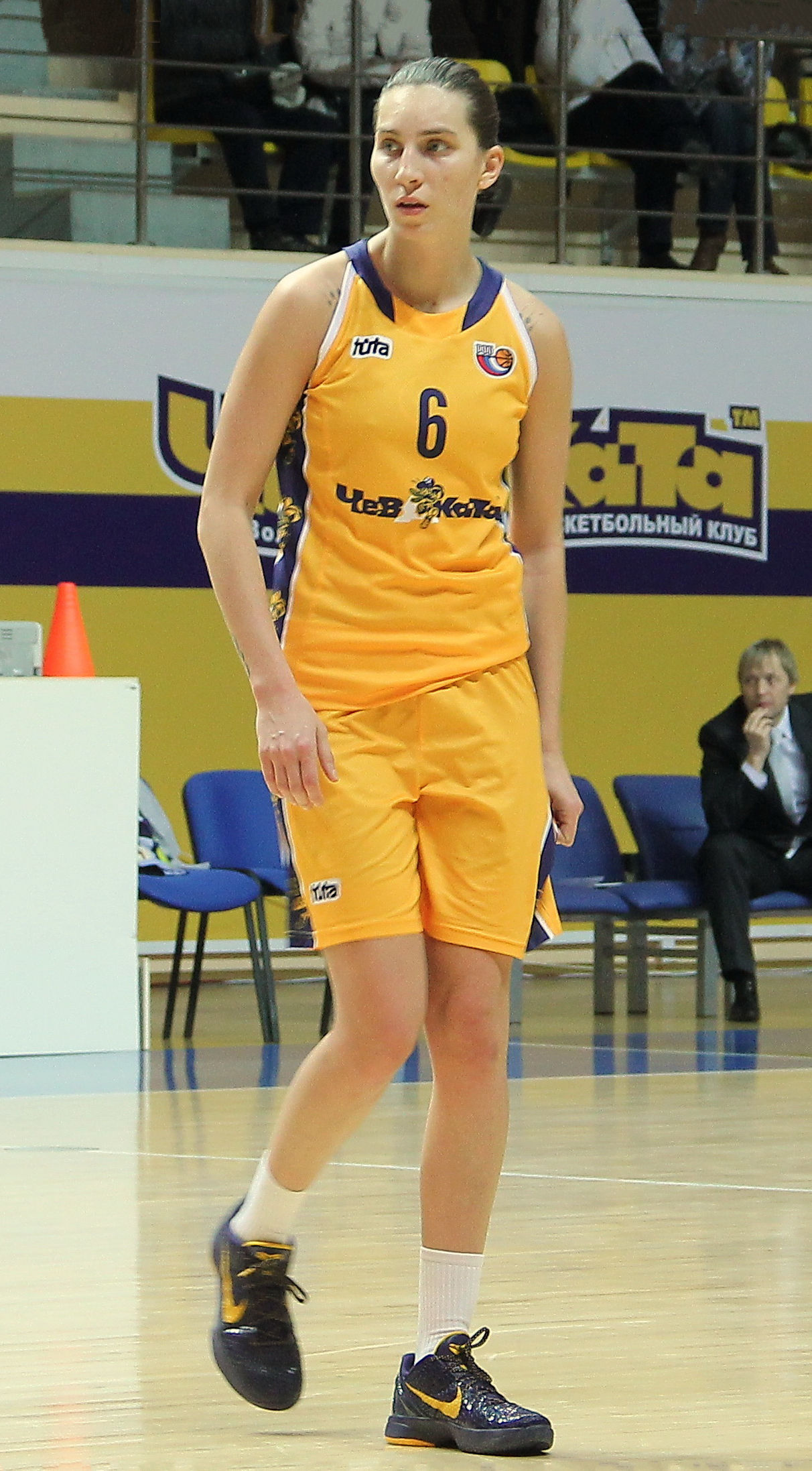 Photo of Katsiaryna Snytsina: Olympic basketball player