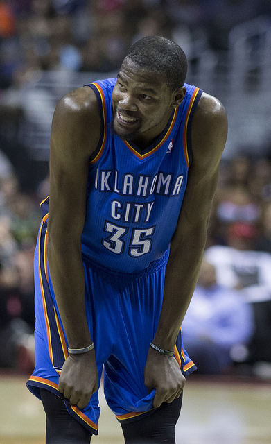Photo of Kevin Durant: American basketball player