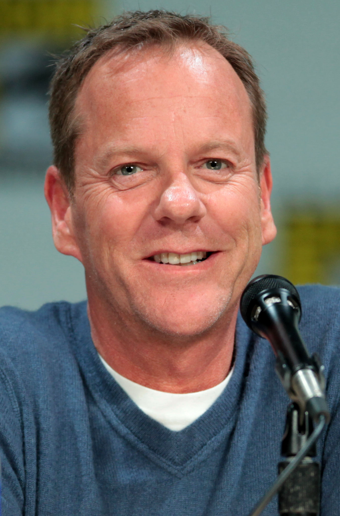 Photo of Kiefer Sutherland: Canadian actor, director, producer, voice actor
