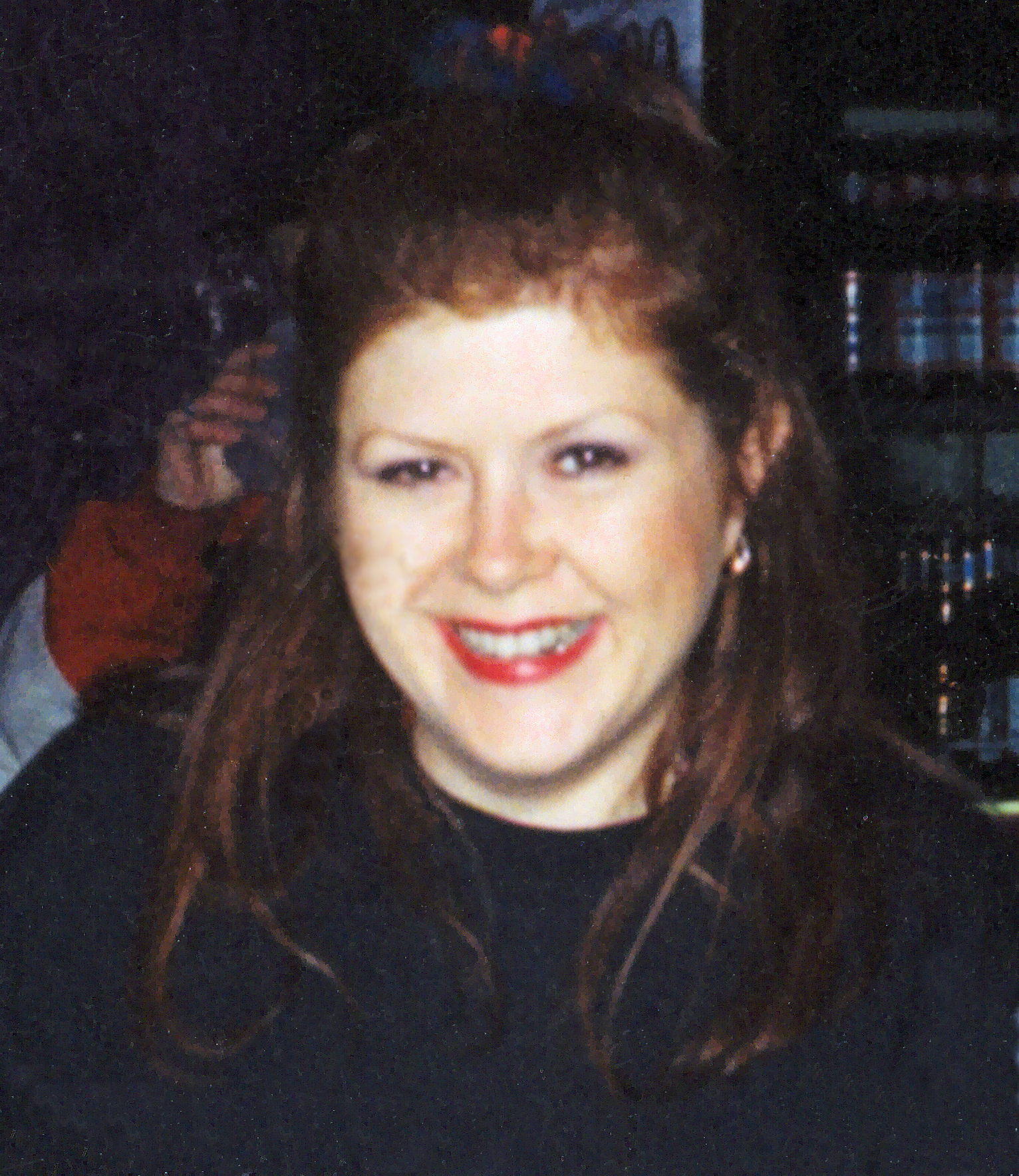 Photo of Kirsty MacColl: English pop singer-songwriter