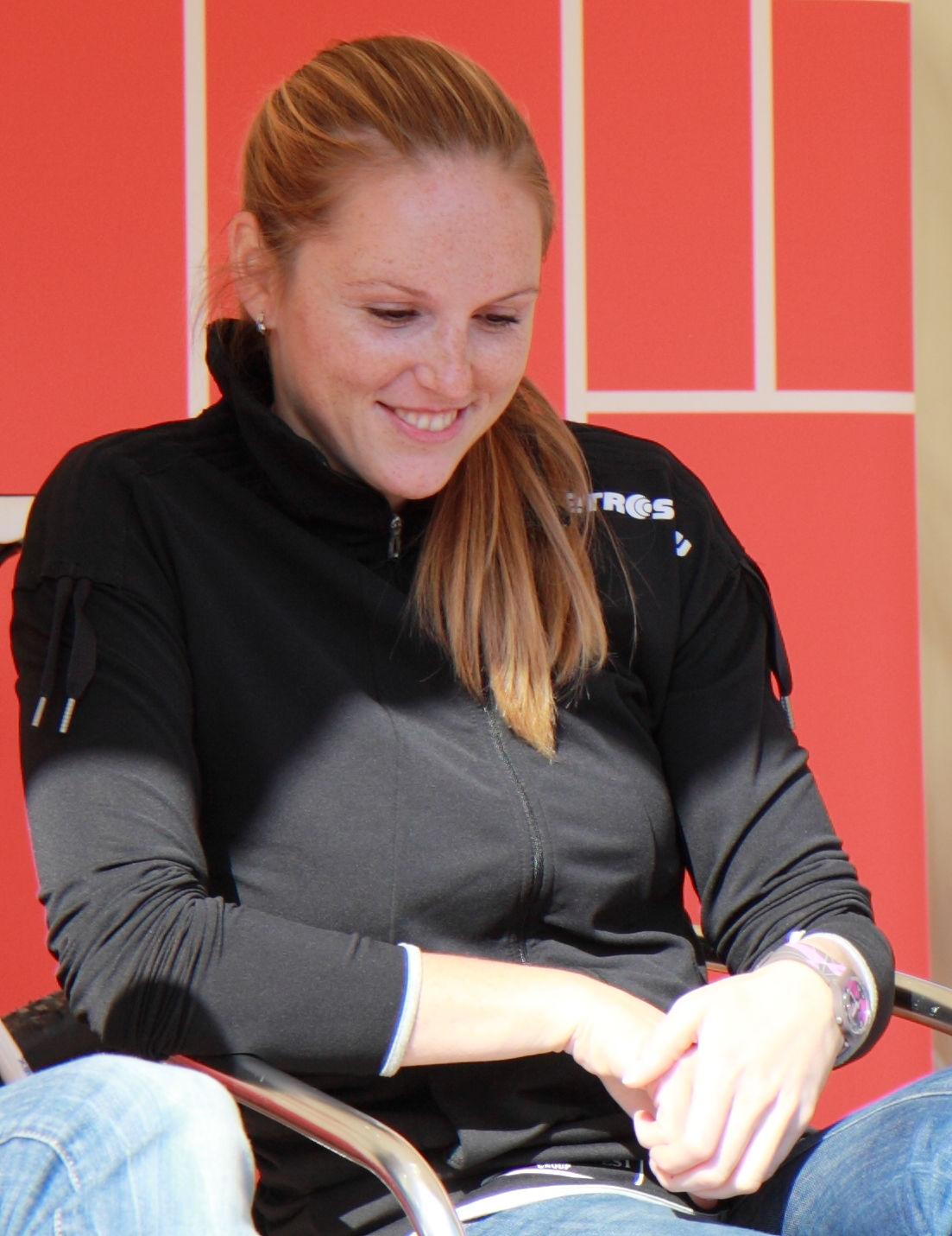 Photo of Kristýna Kolocová: Czech beach volleyball player
