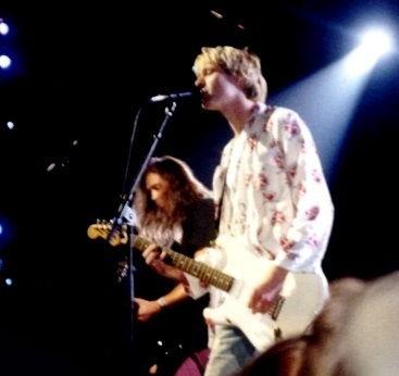 Photo of Kurt Cobain: American musician and artist
