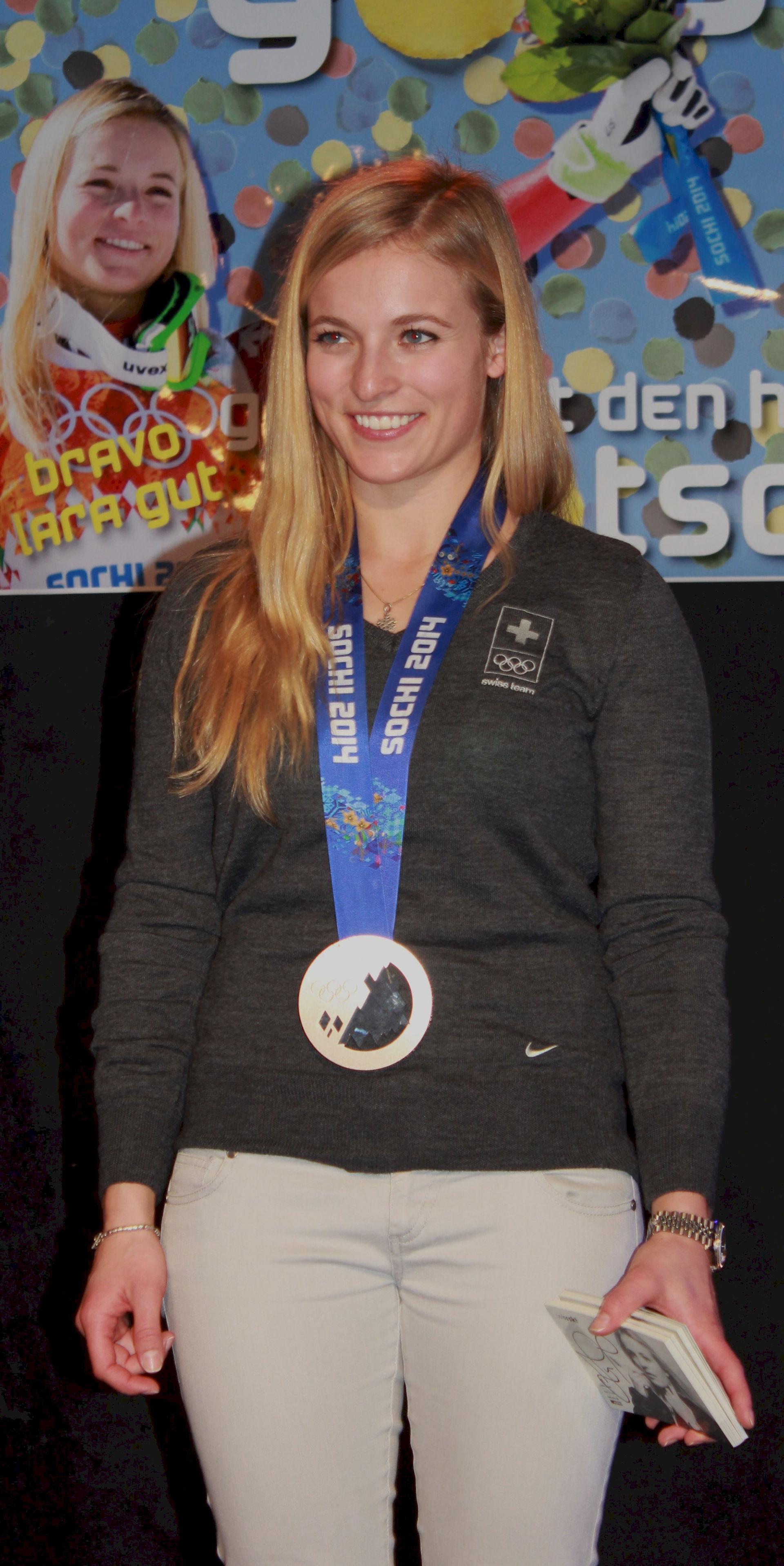 Photo of Lara Gut: Swiss alpine skier