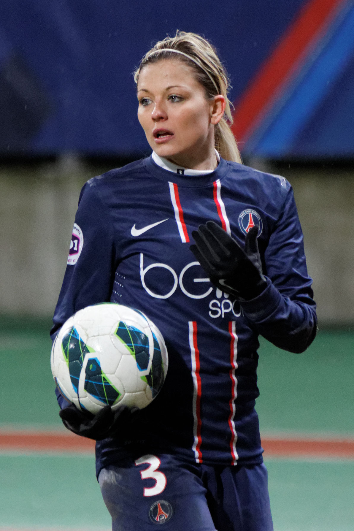 Photo of Laure Boulleau: Association football player