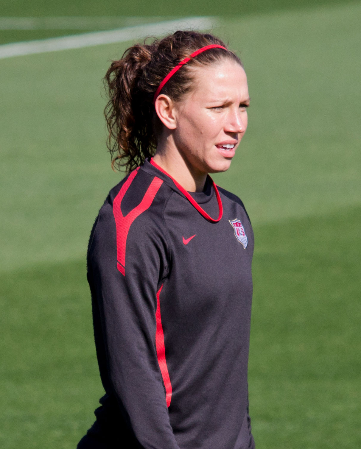 Photo of Lauren Holiday: Association football midfielder and forward for the United States and FC Kansas City