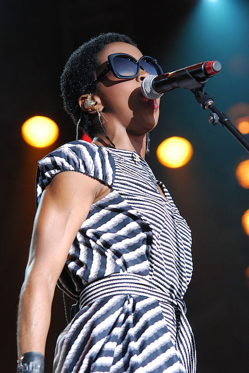 Photo of Lauryn Hill: American singer, rapper, songwriter, record producer, actress