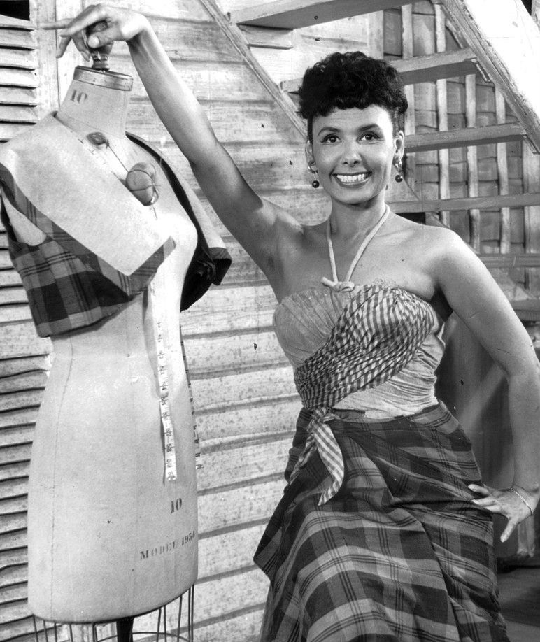 Photo of Lena Horne: American singer, actress, civil rights activist and dancer