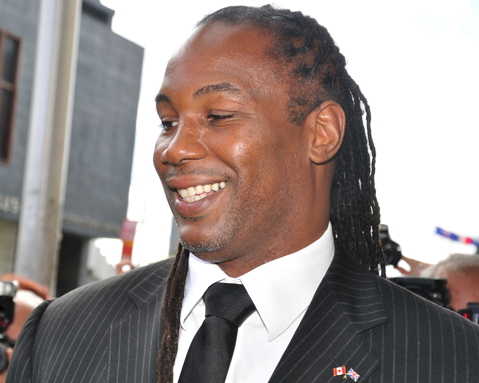 Photo of Lennox Lewis: Former heavyweight champion and professional boxer