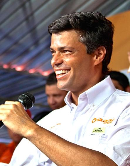 Photo of Leopoldo López: Venezuelan politician