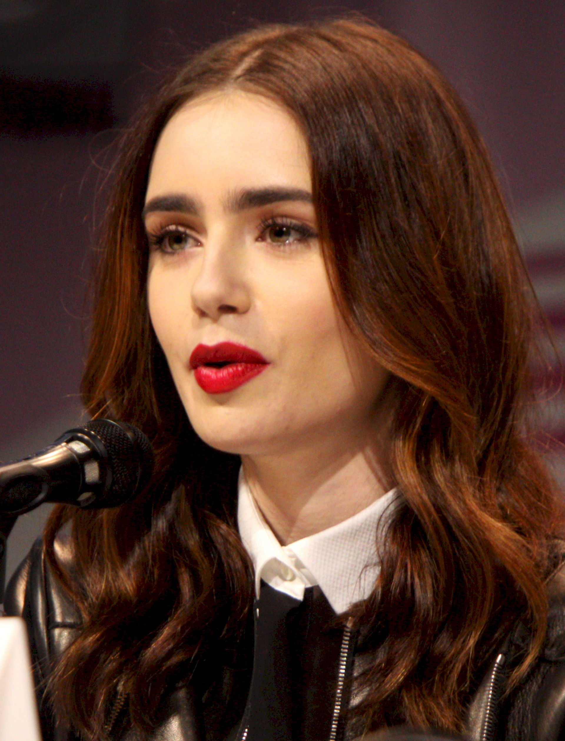 Photo of Lily Collins: Actress, model, writer, and television host