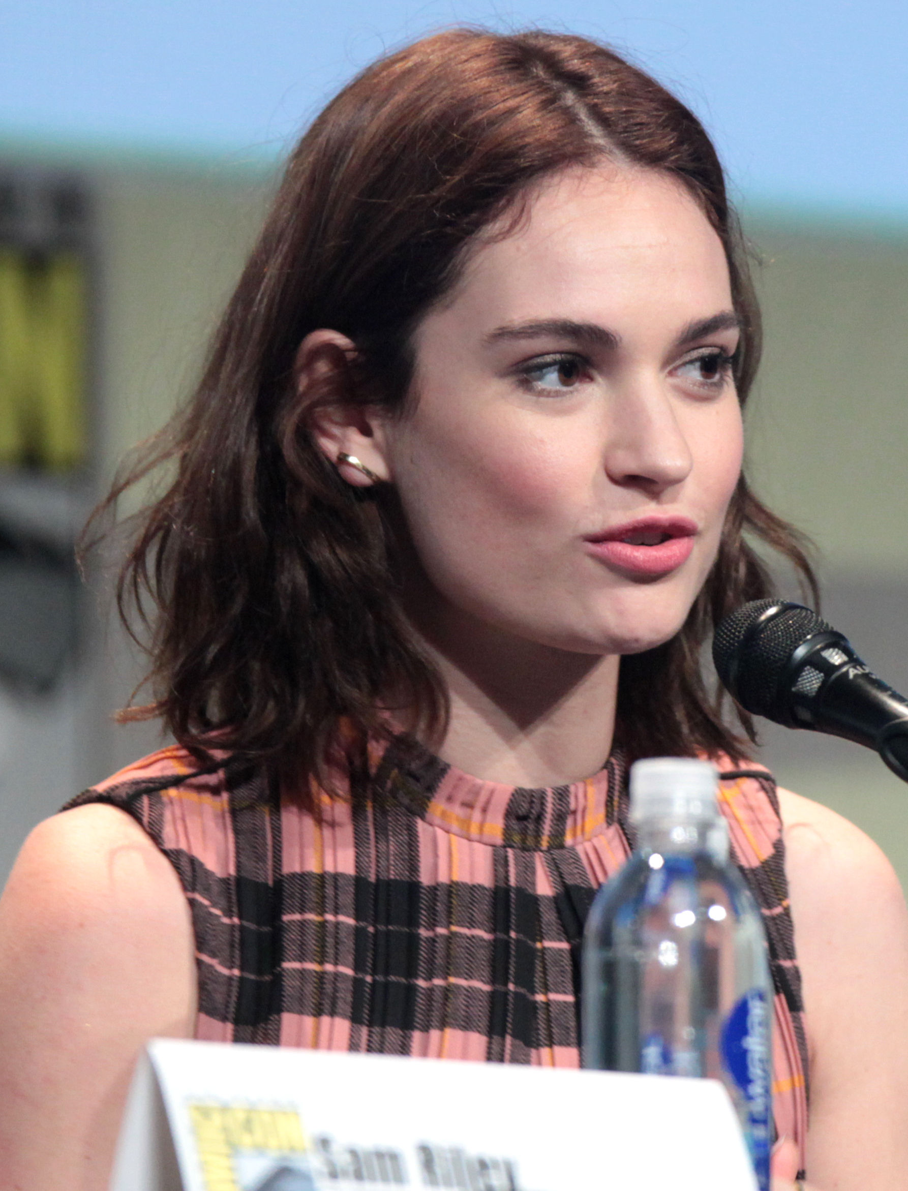 Photo of Lily James: English actress