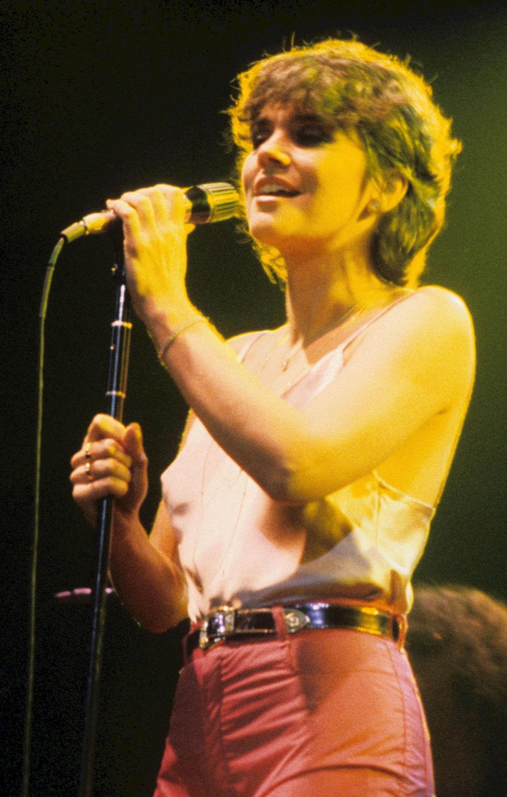 Photo of Linda Ronstadt: American pop singer