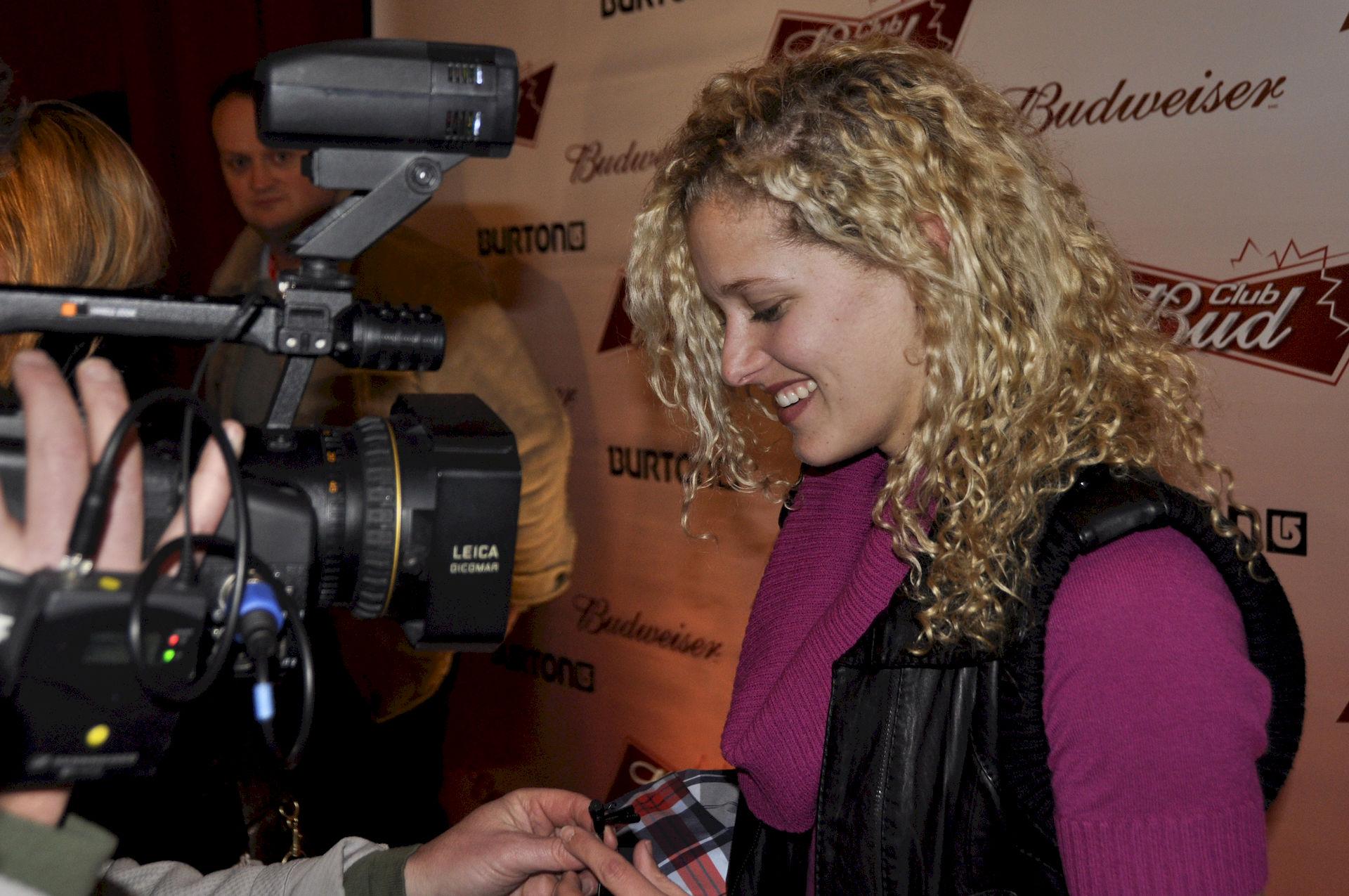Photo of Lindsey Jacobellis: American snowboarder