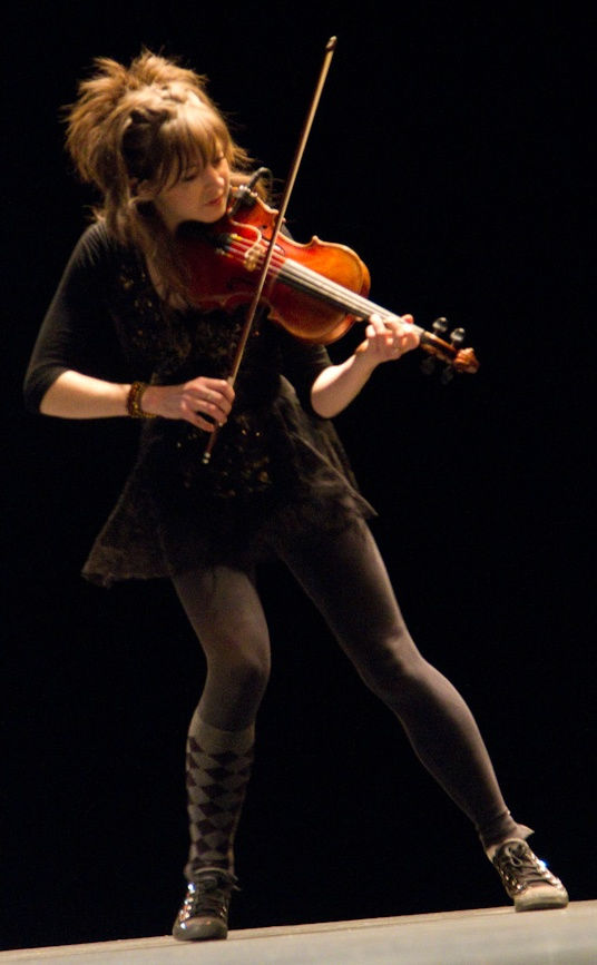 Photo of Lindsey Stirling: American violinist, musician, dancer, performance artist, singer and composer
