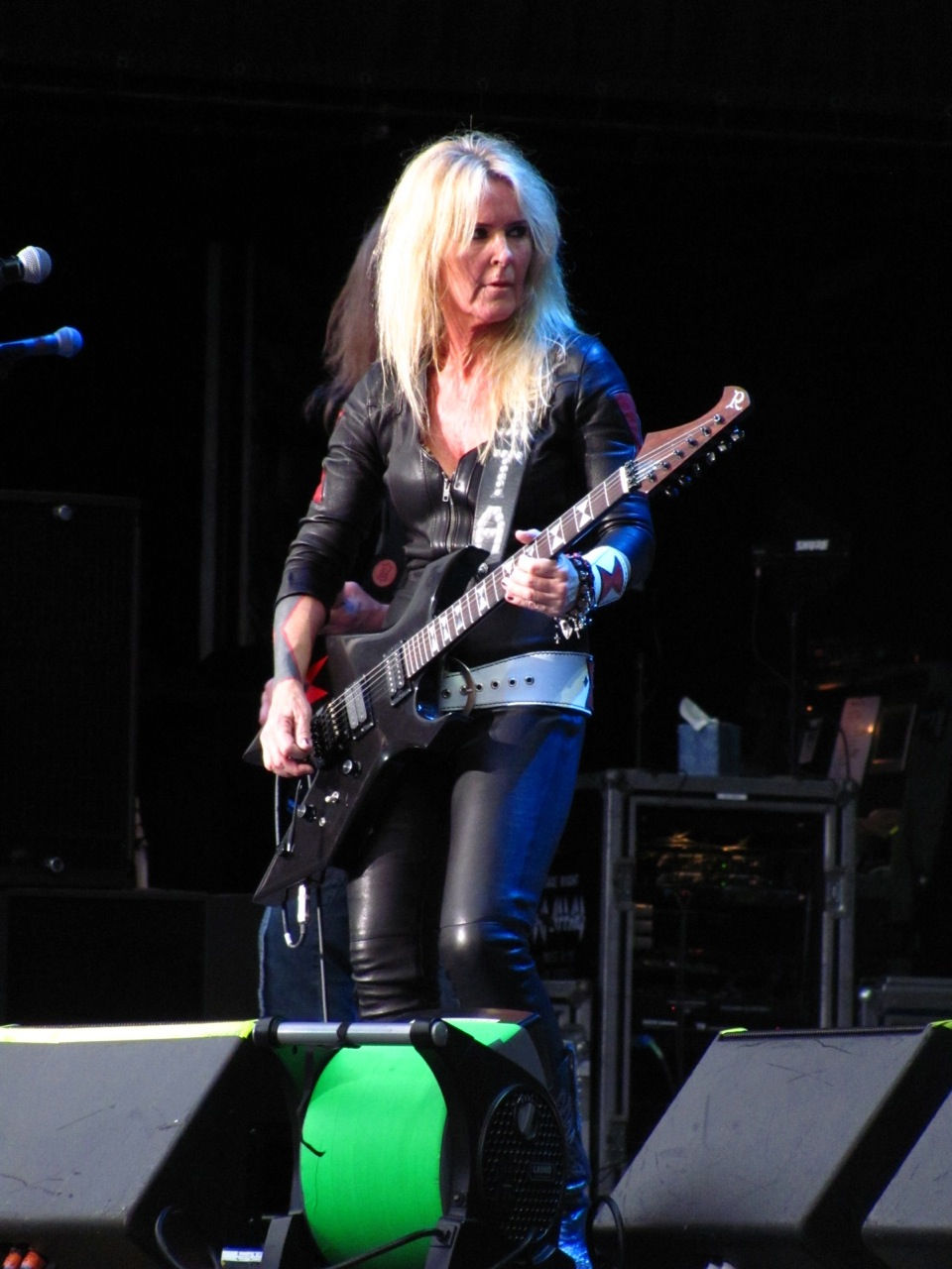 Photo of Lita Ford: American rock musician, former member of The Runaways