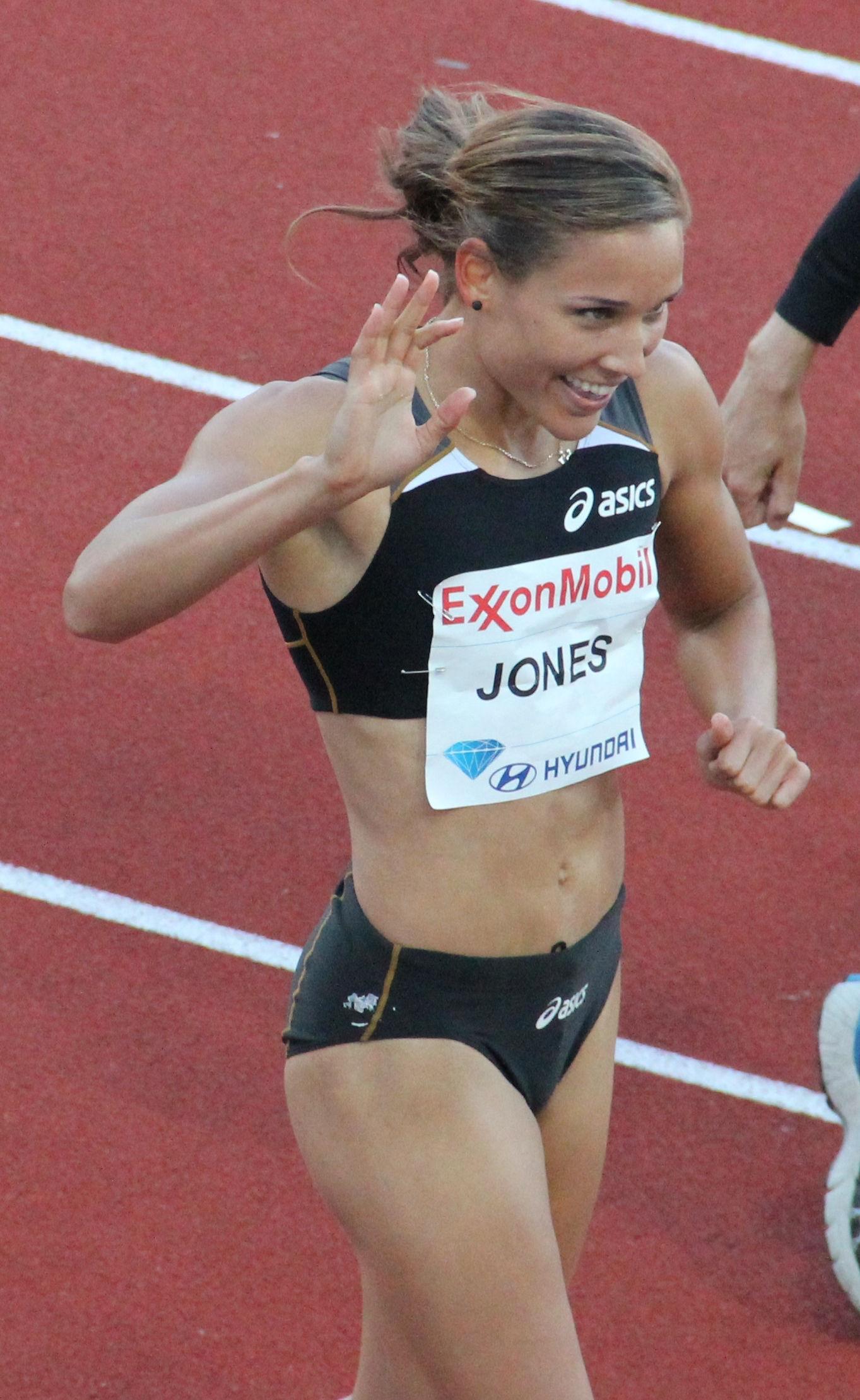 Photo of Lolo Jones: American sprint hurdles athlete