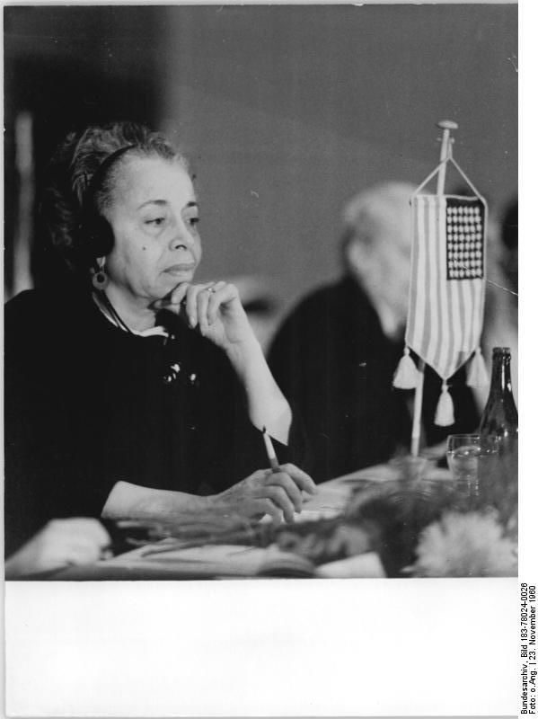 Photo of Louise Thompson Patterson: American social activist and college professor
