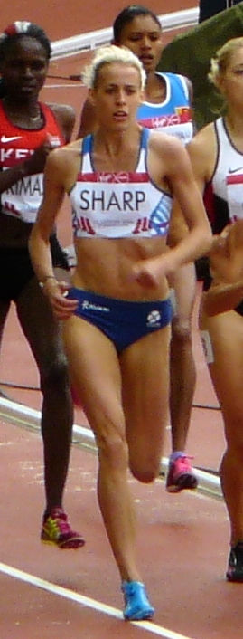 Photo of Lynsey Sharp: Scottish middle-distance runner
