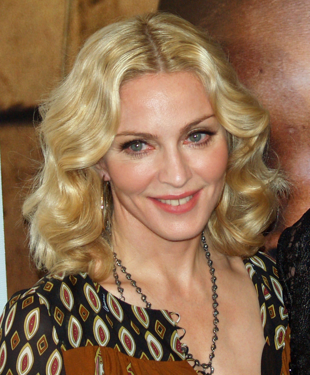 Photo of Madonna (entertainer): American singer, songwriter, and actress