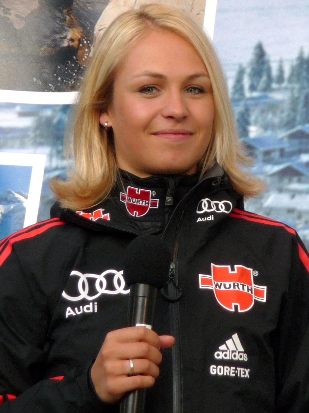 Photo of Magdalena Neuner: German biathlete