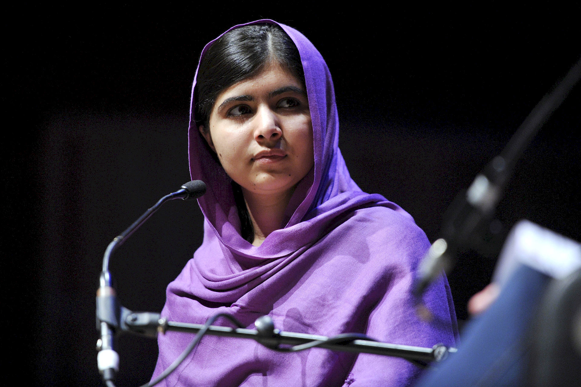 Photo of Malala Yousafzai: Pakistani children's education activist