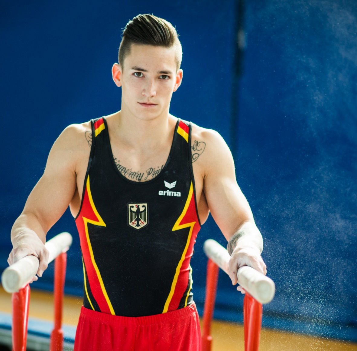 Photo of Marcel Nguyen: German gymnast