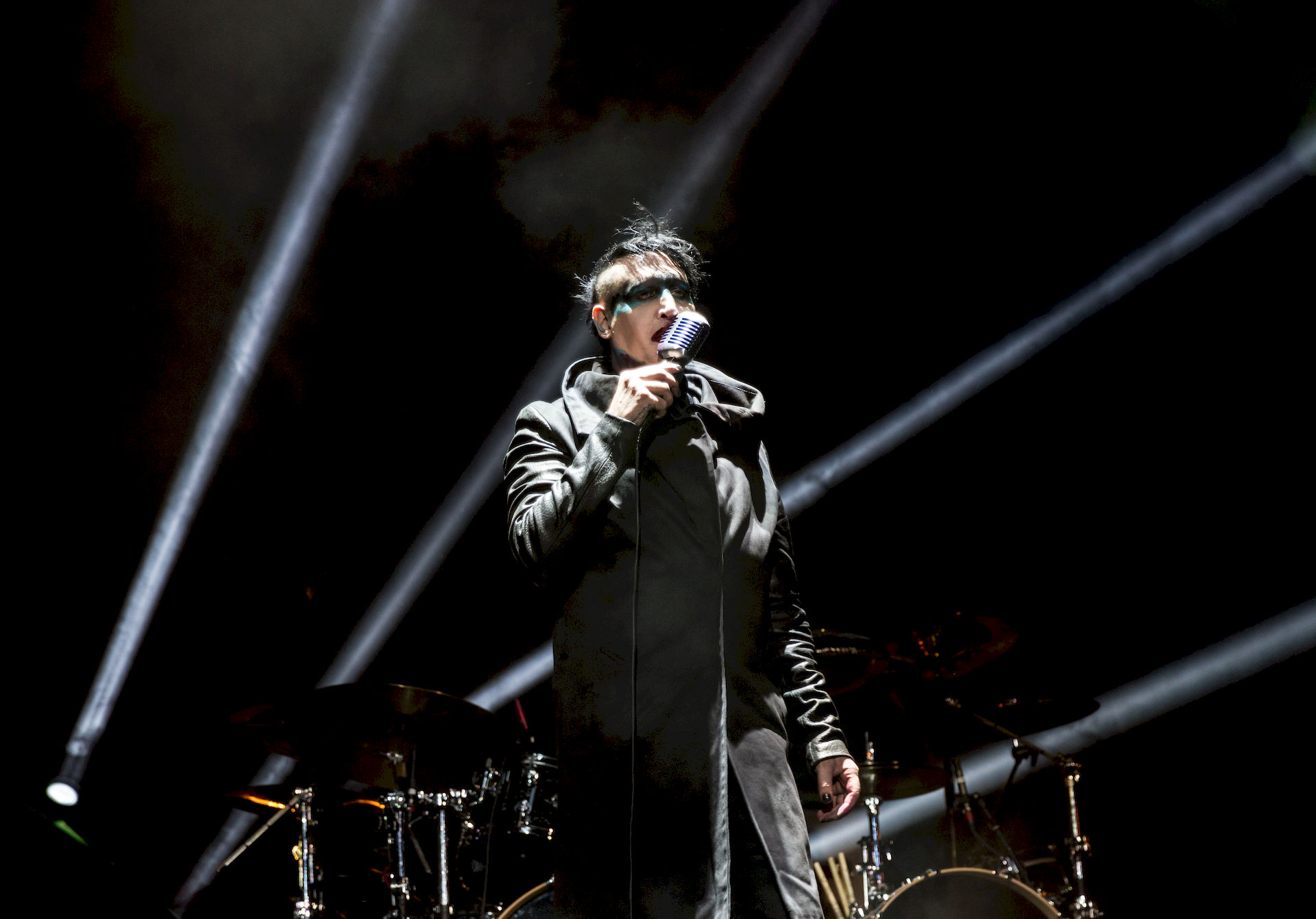 Photo of Marilyn Manson: American rock musician and actor