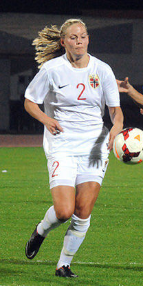Photo of Marita Skammelsrud Lund: Norwegian association football player