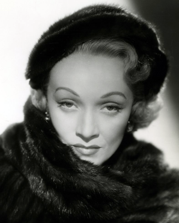 Photo of Marlene Dietrich: German-American actress and singer