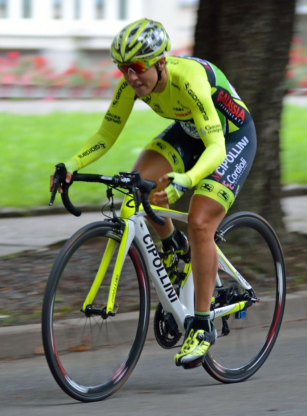 Photo of Marta Tagliaferro: Italian racing cyclist